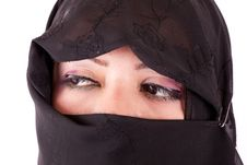 Free Arabian Girl Eyes Stock Image - 26021631
