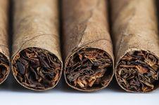 Free Four Cigars Stock Photo - 26028870