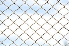 Free Chainlink Fence Royalty Free Stock Images - 26030769
