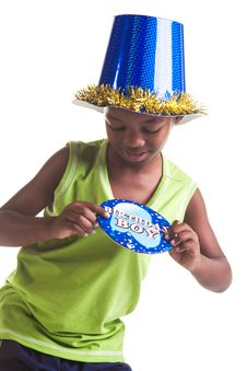 Free Birthday Boy Stock Images - 26031124