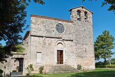 Free St Nicolò Abbey, Facade Royalty Free Stock Image - 26031796