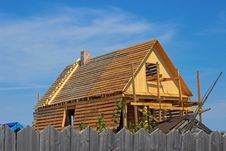Free House Under Construction Royalty Free Stock Photo - 26035715