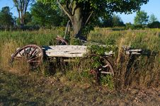 Free Decaying Wagon Stock Photos - 26038703