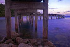 Free Wood Bridge Royalty Free Stock Photo - 26039425