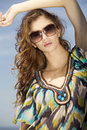 Free Beautiful Girl In Sunglasses Royalty Free Stock Photography - 26049067