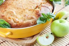 Free Apple Pie. Fragrant Homemade Cakes Royalty Free Stock Photos - 26044888