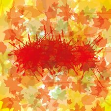 Free Autumn Abstract Illustration Stock Images - 26045034