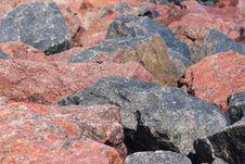 Free Weathered Rubble Stone Background Royalty Free Stock Photo - 26045275