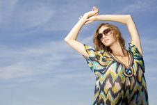 Free Beautiful Girl In Sunglasses Stock Photos - 26048943