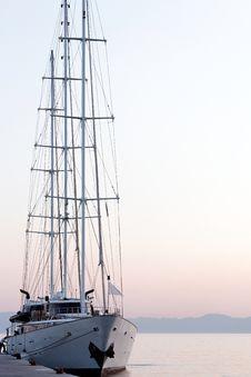 Free Boat At Dawn Stock Image - 26051101