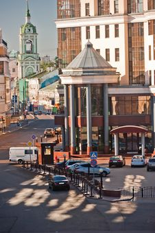 Free Moscow. Baltschug Street. Royalty Free Stock Photo - 26052915