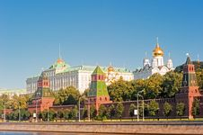 View Of The Grand Kremlin Palace Royalty Free Stock Image