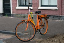 Free Amsterdam City Holland Bike Royalty Free Stock Photos - 26054088