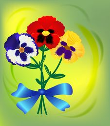 Free Colorful Flowers Bouquet Royalty Free Stock Photos - 26055158