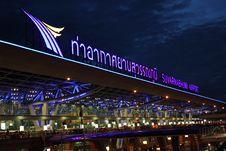 Free Airport Thailand Royalty Free Stock Photos - 26057298
