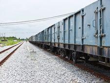 Free Cargo Train Stock Photography - 26058942