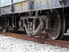 Free Wheel Of Train Stock Images - 26058954