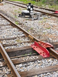 Rail Track Royalty Free Stock Images