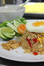 Free Fried Rice With Fried Egg Royalty Free Stock Image - 26060136