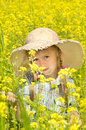Free The Little Girl On Walk Stock Photography - 26063342