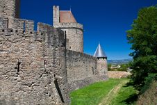 Free Carcassone Back Wall Stock Photos - 26060733