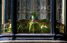 Free Art Nouveau Bay Window Royalty Free Stock Photos - 26061718