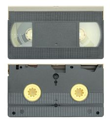 Free Video Tape Cassette Isolated Royalty Free Stock Image - 26062266