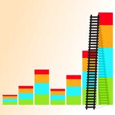 Free Ladder Of Success. Stock Photos - 26062373