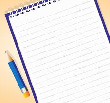 Free Notepad Stock Image - 26062701