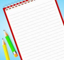 Free Notepad Stock Images - 26062714