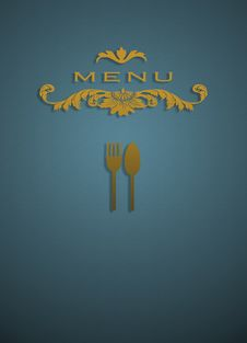 Free Menu Cover Stock Images - 26063264