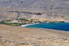 Free Scenic Beach At Crete Island, Greece Royalty Free Stock Photos - 26063568
