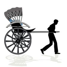 Free Rickshaw Stock Photo - 26064130