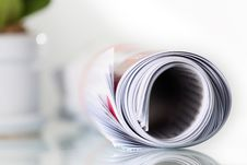 Free Roll Of Newspaper Stock Photos - 26064283