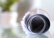 Free Roll Of Newspaper Stock Photography - 26064372