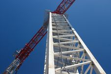 Free Tower Crane Stock Photography - 26066732