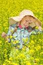 Free The Little Girl On Walk Stock Photo - 26072760