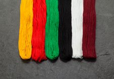 Free Embroidery Floss &x28;threads&x29; Royalty Free Stock Images - 26071979