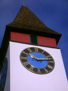 Free Clock Tower Royalty Free Stock Photography - 26072107