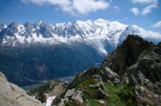 Free Mont-Blanc Massive Royalty Free Stock Image - 26073186