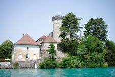 Free Chateaux De Duingt In Annecy Stock Photography - 26073212