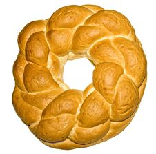 Free Knot Shaped Bread Stock Photography - 26073612