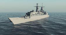 Free Warship Royalty Free Stock Photos - 26073628