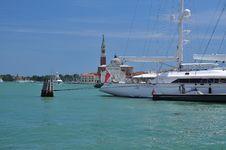 Free Sail Boat In The Venetian Lagoon, Venice, Italy Royalty Free Stock Photo - 26073645