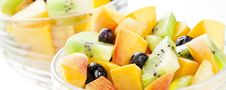 Free Fruit Salad Macro Royalty Free Stock Image - 26075806