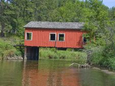 Free Covered Bridge Stock Images - 26076044