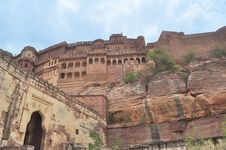 Free Mehrangarh Fort Royalty Free Stock Photo - 26077485