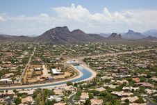 Free Arizona Canal Royalty Free Stock Photos - 26079038
