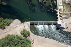 Free Granite Reef Dam Stock Images - 26079084