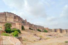 Fort Of Mehrangarh Royalty Free Stock Image